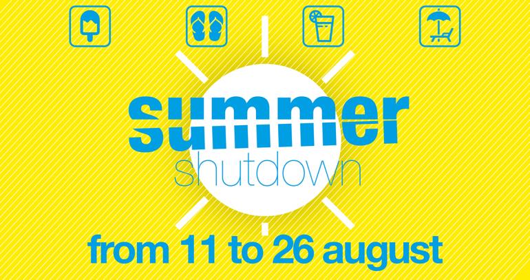 Summer Shutdown – Atlas Filtri